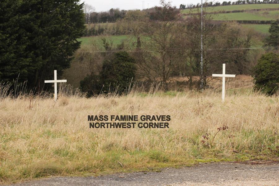 Mass Famine Graves, Northwest Corner