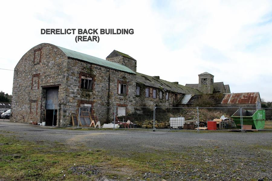 Derelict Back Building (Rear)